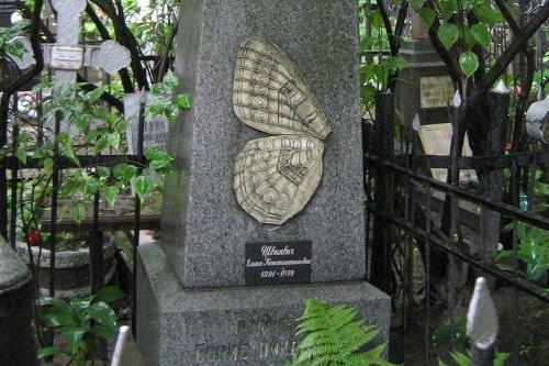памятник Борис Шванвич